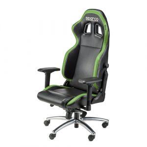 Cadeira gaming Sparco Respawn SG-1 preto/verde