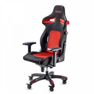 Cadeira Gaming Sparco Stint Preta/Vermelha