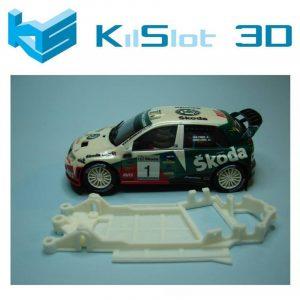 Chassis, Kilslot, anglewinder Skoda Fabia WRC SCX