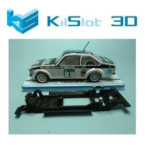 Chassis, Kilslot, lineal black Ford Escort MK II SCX