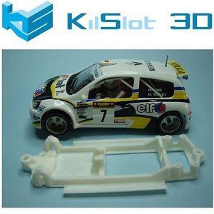 Chassis, Kilslot, lineal Renault Clio S1600 Ninco