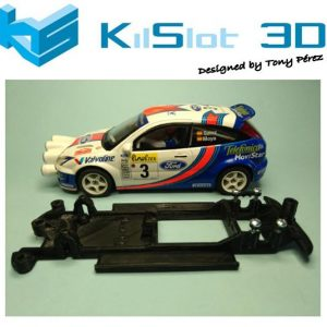 Chassis, Kilslot, lineal Ford Focus WRC SCX