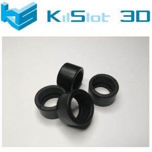 Pneu, Kilslot, borracha mecanizada Ultra Grip competição EVO2, 17.6×10.3mm