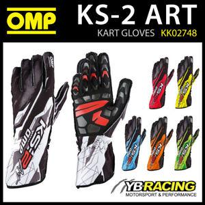 Luvas de karting OMP KS2 ART