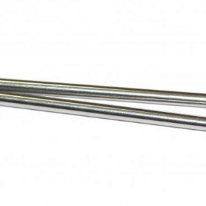 Eixo, Sloting+, em aço temperado & calibrado p/eixo 2.38mm x 60mm