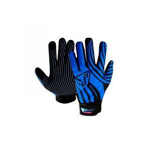 Luvas Speed Pro Gamer preto/azul