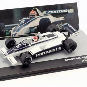 Brabham BT49C #5 – Nelson Piquet – World Champion Germany GP Formula 1