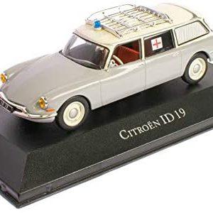 Citroen Id19 Break Ambulance 1962 Grey
