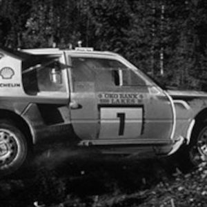 Peugeot 205 T16 E2, No.5, 1000 Lakes Rally, T.Salonen/S.Harjanne, 1986
