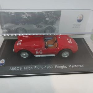 Maserati A6GCS Targa Florio 1953 – J.M. Fangio & Mantovani