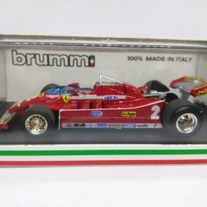 Ferrari 126C – G. Villeneuve – GP Italie 1980