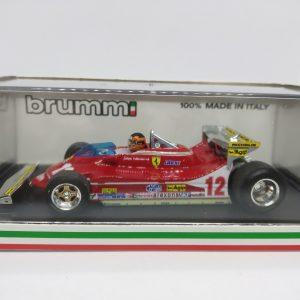 Ferrari 312 T4 – G. Villeneuve – GP Monaco 1979
