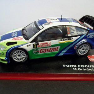 Ford Focus WRC #3 Rally Montecarlo 2006 M.Gronholm T.Rautiainen