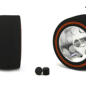 Roda de espuma, Scaleauto, 21.5x11mm. Procomp-3 para eixo 3mm. Jante ø15mm