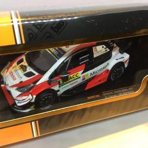 Toyota Yaris WRC #8 – O. Tänak – M. Järveoja – Rally Catalunya 2019
