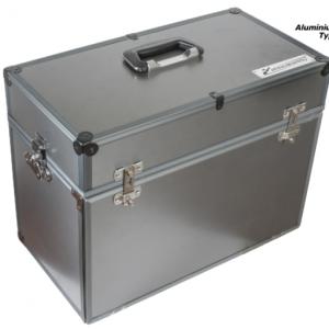 Maleta SlotBox para carros & acessórios tiipo A. Medidas 475 x 240 x 350mm.