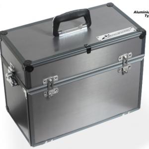 Maleta SlotBox para carros & acessórios tipo B. Medidas 410 x 200 x 305mm.