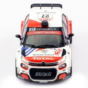 Citröen C3 R5 #27 E. Camilli – F-X. Buresi Rallye Monte-Carlo 2020