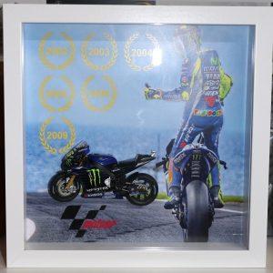 Quadro 25×25 cm – Winner Series – Valentino Rossi