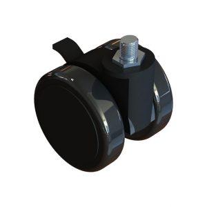 Rodas Next Level Racing Lockable Castor Wheels