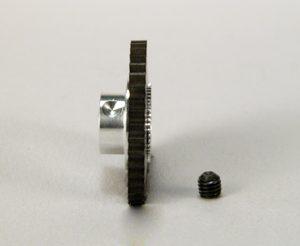 Cremalheira, Sigma, 40z M50 p/eixo 3mm New Racing Transversal