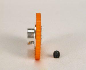 Cremalheira, Sigma, 41z M50 p/eixo 3mm New Racing Transversal