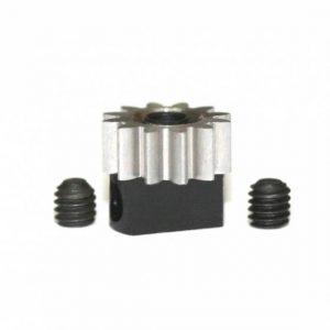 Pinhão em aço 12d. M50 para Eixos 2.38mm de 6.5mm fixação p/parafuso