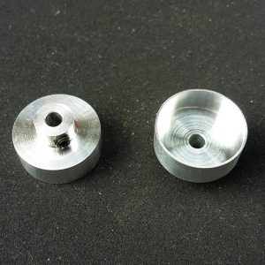 Jantes, DoSlot, alumínio racing dianteiras 16.1x5mm
