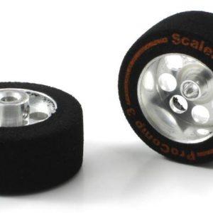Roda, Scaleauto, de espuma 26.75 x13mm Procomp-3 para eixo 3mm. Jante ø17mm