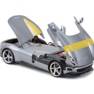 Ferrari Monza SP1, metallic-grau/Decorated, 2019