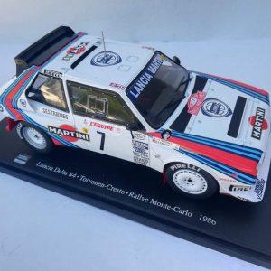 Lancia Delta S4 – H. Toivonen/ S. Cresto – Rally Monte-Carlo 1986