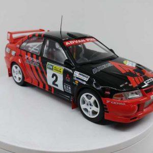 Mitsubishi Lancer EVO VI #2 – Y. Kataoka/ S. Hayashi – Winner Rally of Canberra 1999
