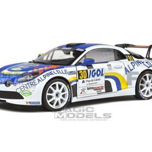 Renault Alpine A110 RGT – Rally du Touquet 2020