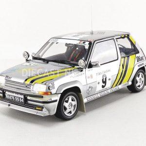 Renault 5 GT Turbo – A. Oreille / G. Thimonier – Rally Côte d'Ivoire 1989
