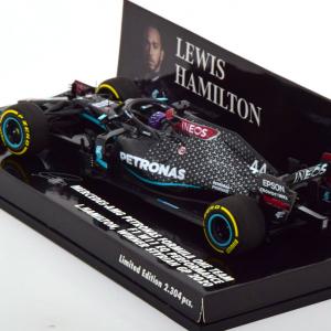 Mercedes-AMG Petronas F1 W11 EQ Performance Winner Styrian GP 2020 Lewis Hamilton 1-43 Minichamps Limited 2304 Pieces.