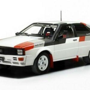Audi Quattro , white/Decorated, Rally Spec, 1982