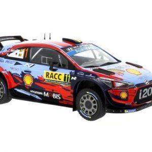 Hyundai I20 Coupe WRC #11 Winner Rally Catalunha 2019 T. Neuville