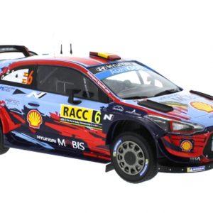 Hyundai I20 Coupe WRC #6 Rally Catalunha 2019 D. Sordo/C. Del Barrio