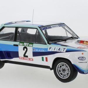 Fiat 131 Abarth #2, Rally Portugal, M.Alen/I.Kivimaki, 1980