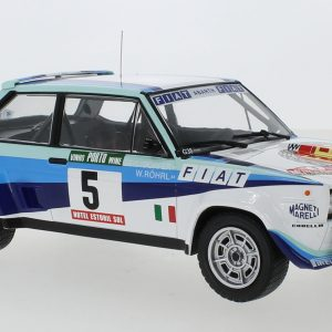 Fiat 131 Abarth #5, Rally Portugal, W.Röhrl/C.Geistdörfer, 1980