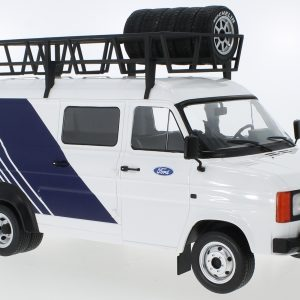 1:18 Ford Transit MK II, team Ford, with roof accessories