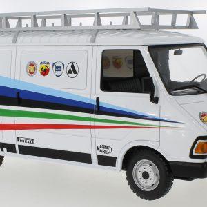 1:18 Fiat 242, Fiat Abarth, Assistance, 1980
