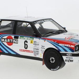 Lancia Delta Integrale 16V #6, Martini, Rally Portugal, J. Kankkunen/J. Piironen, 1990