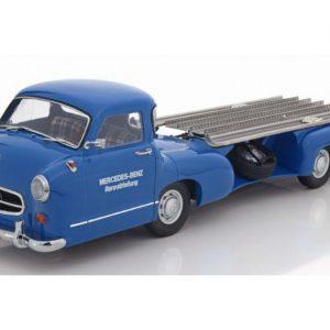 Mercedes Racing Transporter blue Wunder 1955