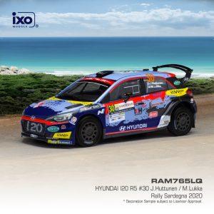 Hyundai i20 R5 #30, Rally da Sardenha, J.Huttunen/M.Lukka, 2020