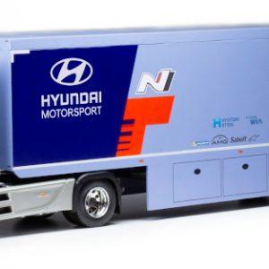 Mercedes Actros MP4, Hyundai Motor Sport, WRC Transport, 2019