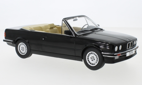 BMW 325i E30 cabriolet preto