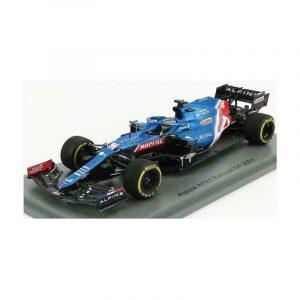 Alpine A521 F1 Fernando Alonso Bahrain GP 2021