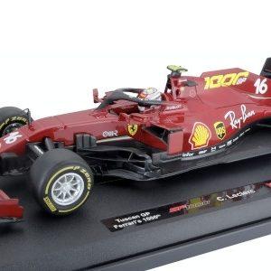 Ferrari SF1000, #16, Scuderia Ferrari, formula 1, GP Toscana, 1000th GP for Ferrari, C. Leclerc, 2020