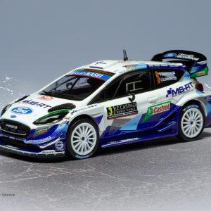 Ford Fiesta WRC #3, T. Suninen/J. Lehtinen, Rally Monte-Carlo 2020